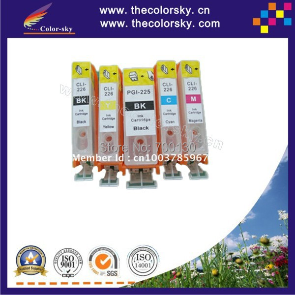 (RCE1251) refill ink cartridge for Epson T1251-T1254 T125 T 125 Stylus NX125/NX625/NX420 BK/C/M/Y (with ARC chip) free shipping