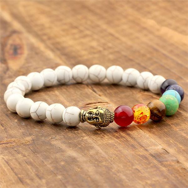 Yoga Beads: 8mm Lava Beads Yoga Bracelet