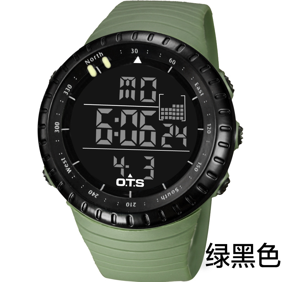 Famous Brand Multifunction 50M Professional Waterproof Men Digital Watches Swimming Outdoor Military Watch Men Sport Watches(China (Mainland))