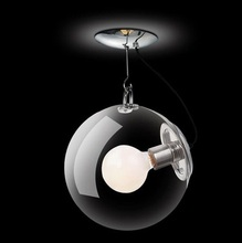 Modern minimalist creative glass soap bubble Led ceiling light For Living Room study bedroom,1 Light E27 Bulb Included,AC(China (Mainland))