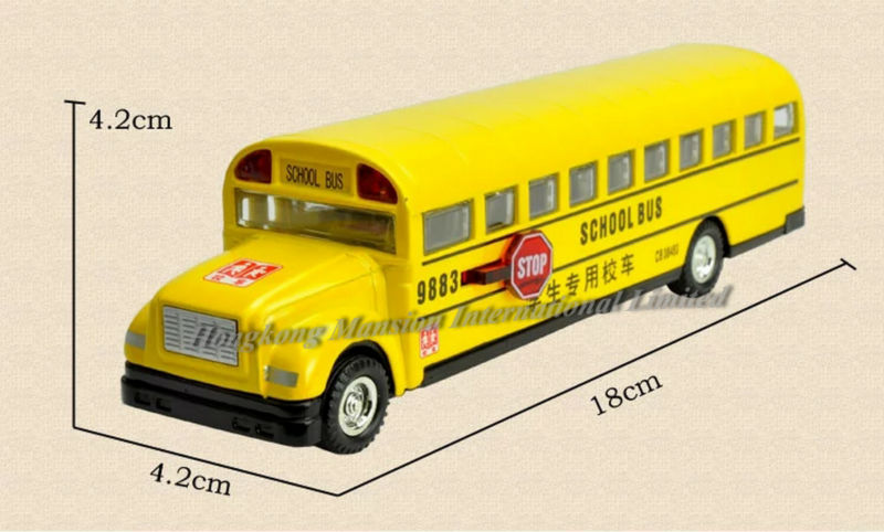 132 Car Model For Bluebird School Bus style 2 (8)