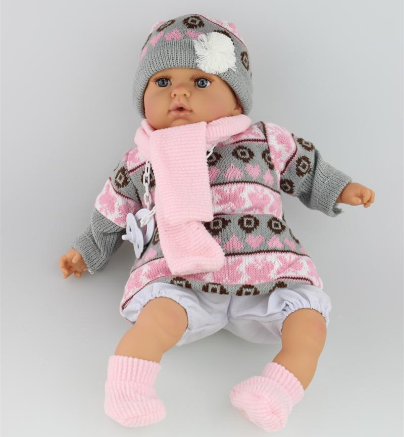 18 inch plastic baby toy gift doll with lovely princess dress<br><br>Aliexpress
