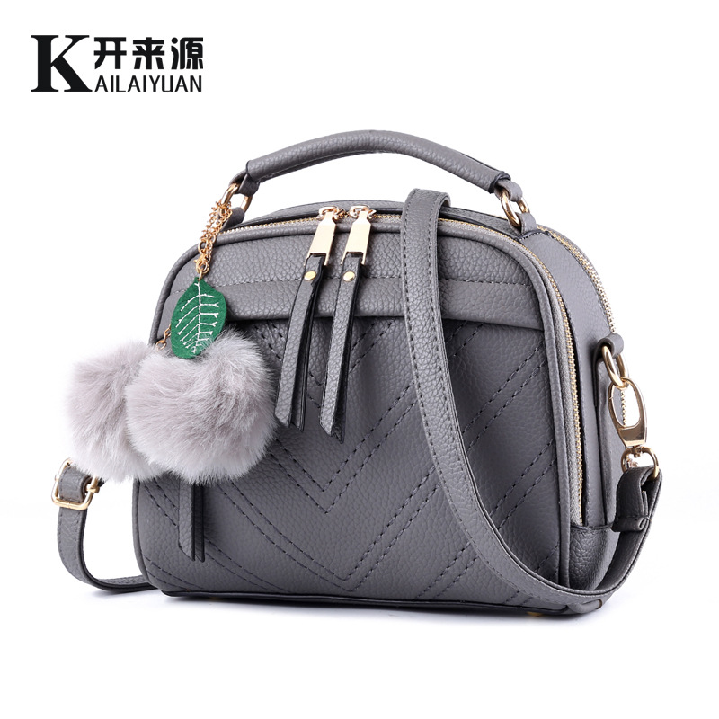 100% Genuine leather Women handbag 2016 new female bag fresh fragrant small Korean tide Fashion Shoulder Messenger Bag(China (Mainland))
