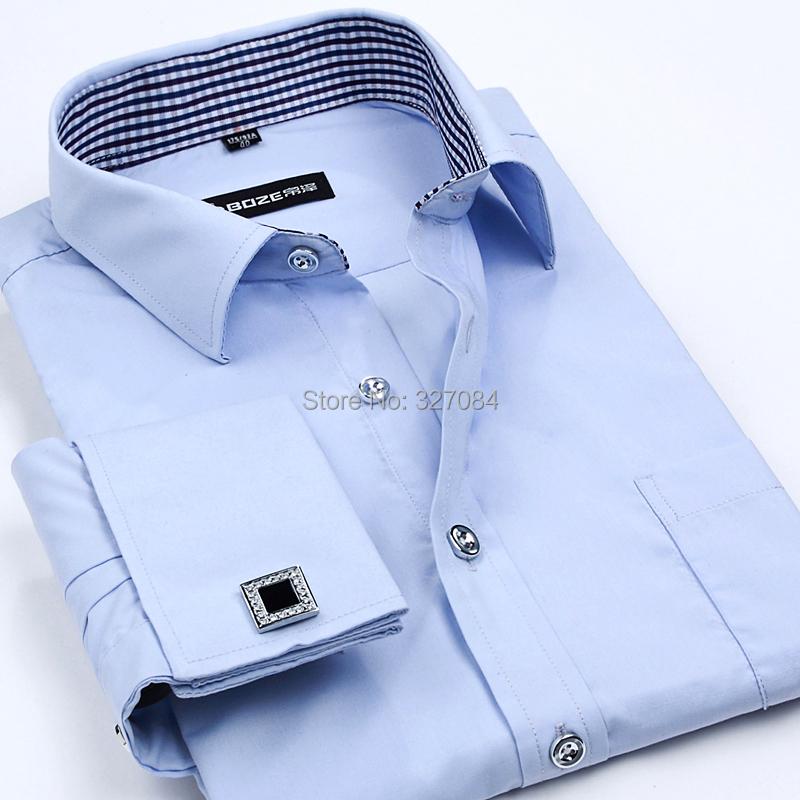 Fashion trends high quality mens dress shirts for Mens white cufflink shirts