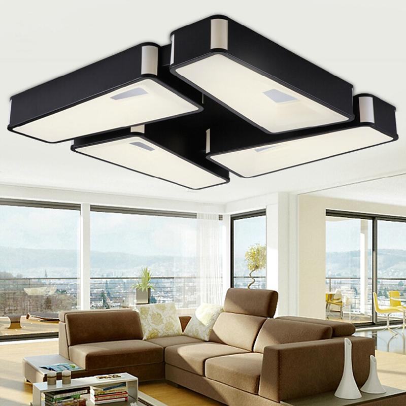 Фотография New Modern LED Ceiling light Acrylic led ceilign lamp for living room  bedroom study room