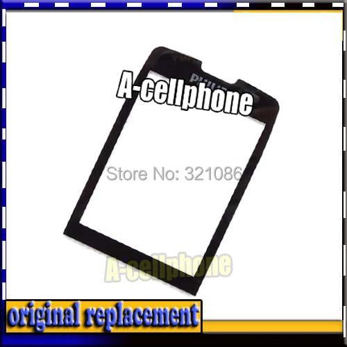 Original Glass lens FOR Philips Xenium X5500 Original (NO Digitizer Touch ) Screen +FREE tools(China (Mainland))