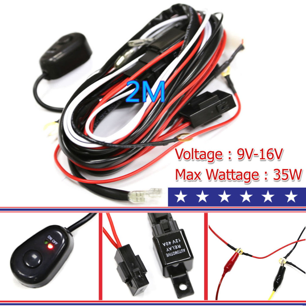 Car Wiring Harness Kits : Universal car meter w below wiring harness kit line