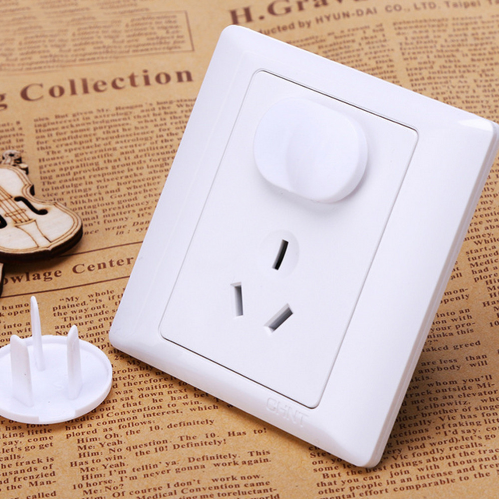 20PCS Electrical Safety Euro Standard Child Electric Socket cover Outlet Plug Two Phase Safe Lock Cover Baby Kids Safety W8(China (Mainland))