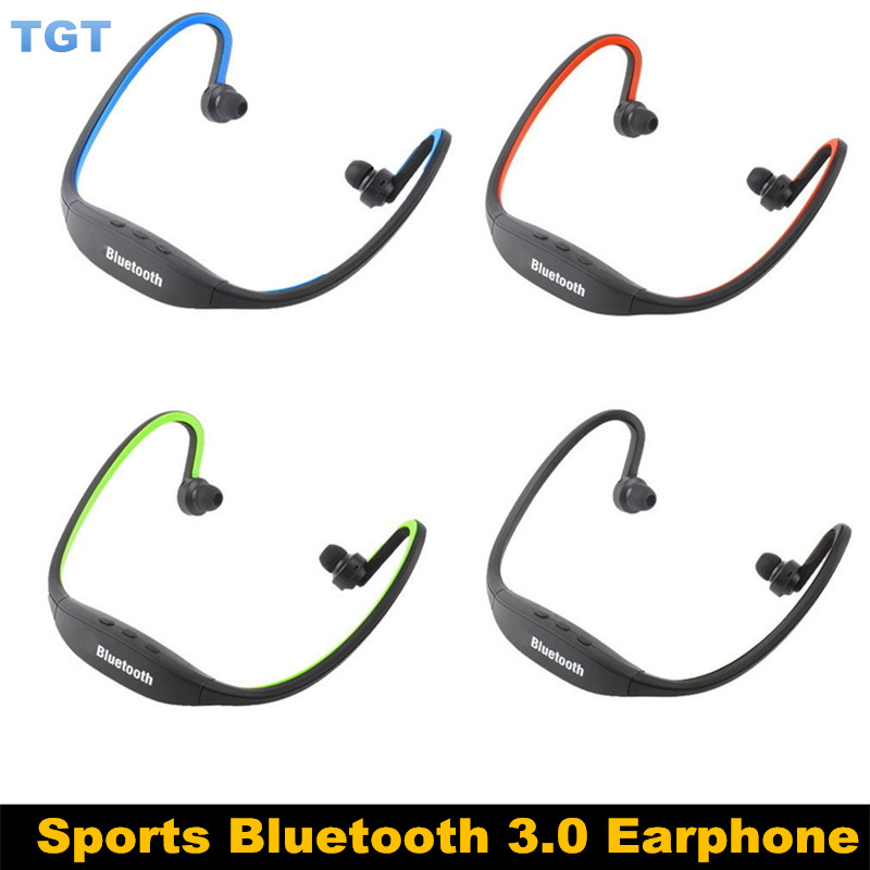20pcs/lot Universal S9 Wireless Bluetooth Sport Earphone sports Stereo Headphone Headset for iphone 6S 5 galaxy S5 Android Phone(China (Mainland))