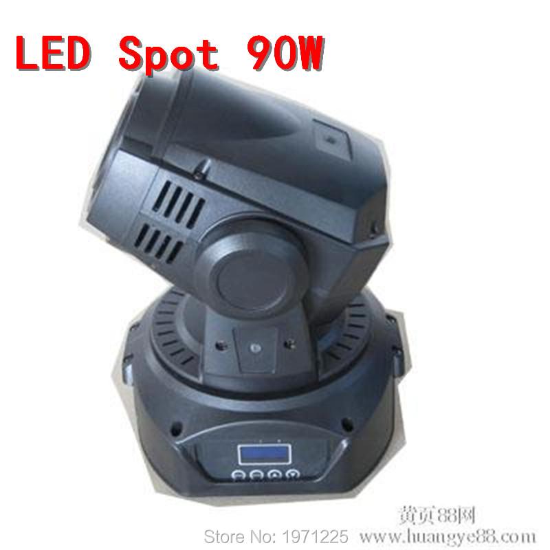 90w led moving head spot mini stage gobo light mini beam moving head Led Follow Spot DMX Stage Holiday Light Projector DJ<br><br>Aliexpress