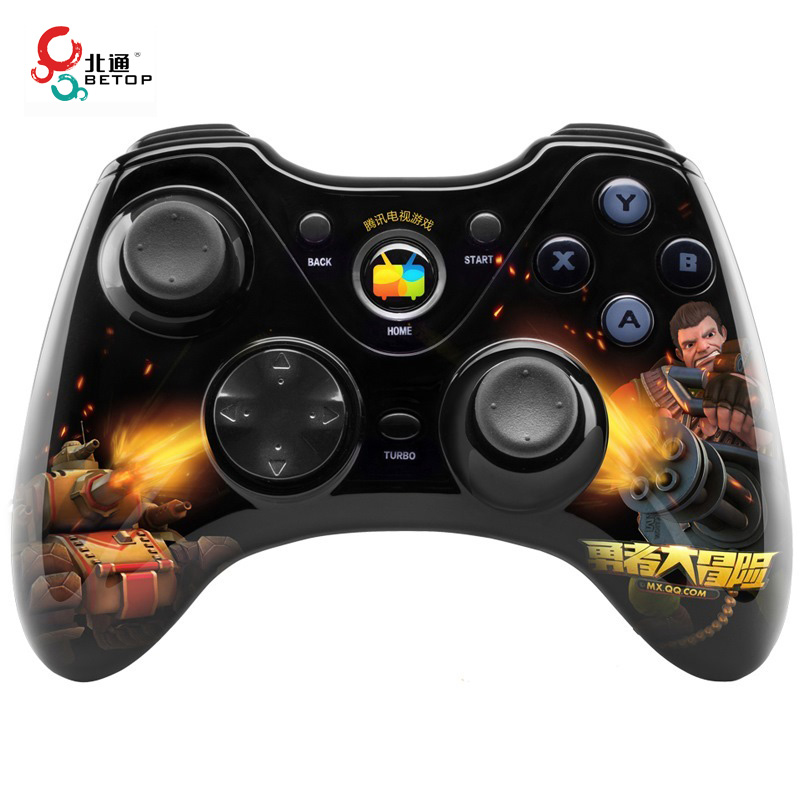Professional BETOP BTP-2171S Wireless Gaming Controller for Android Smart TV for Set-top Box for Tablet Game Phone Gamepad<br><br>Aliexpress