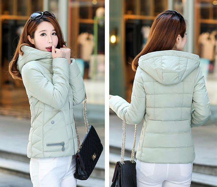 2016 Cotton Padded Down The Korean Version Of The New Female Female Short Thick Winter Students Show Thin Cotton Padded Jacket