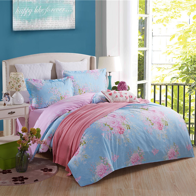 2016 Bedding Set 4pcs Super King Size Bedding Sets Bed