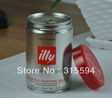 Free shipping illy coffee beans medium roast 250g red can Certified Goods