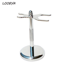 Stainless Steel Shaving Brush Stand Razor Holder for Mens Shave Beard Tool(China (Mainland))