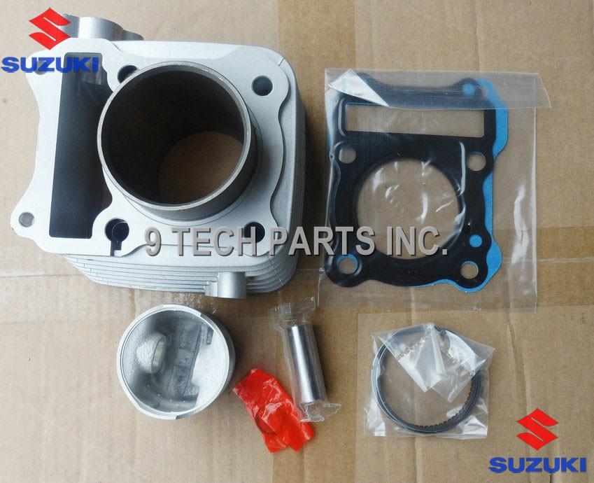 BIG BORE Barrel Cylinder Piston Kit 150cc 62mm for SUZUKI GS125 GN125 EN125 GZ125 DR125 TU125 157FMI(China (Mainland))