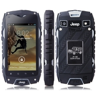 JEEP Z6 Phone IP68 MTK6572 Android 4.2 3G GPS AGPS 4.0 Inch Screen Shockproof Waterproof Smart Phone