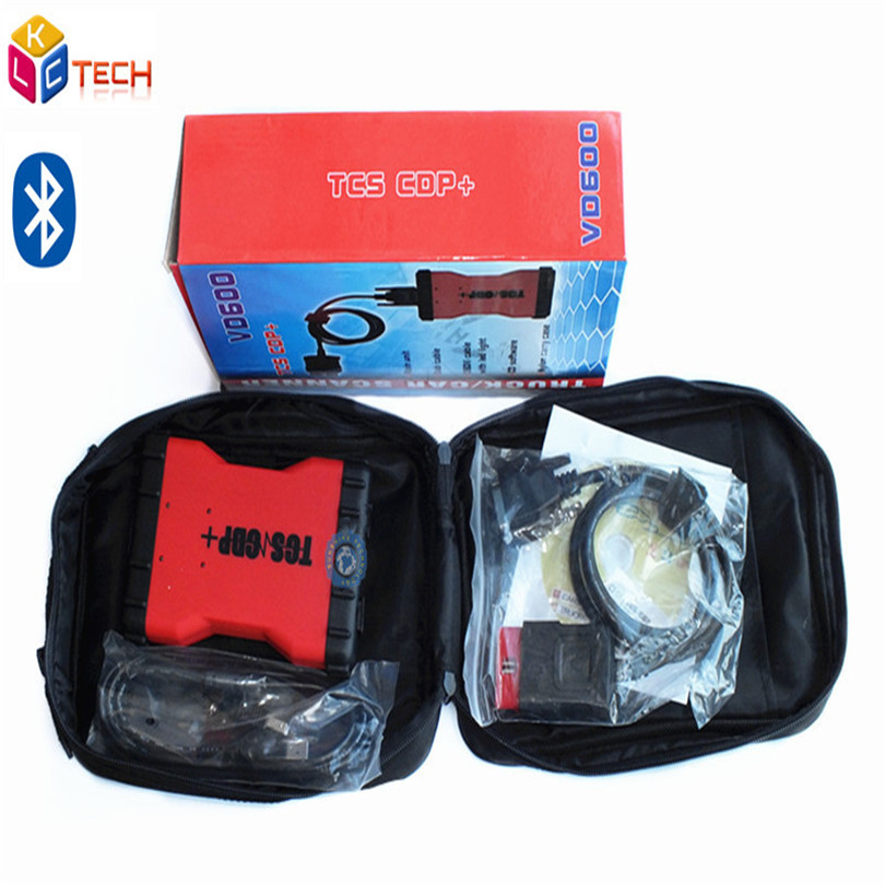 2016 Latest Product VD600 TCS CDP 2014 R2/2015 R3 Version With Bluetooth Multi langauge VD 600 CDP For Cars and Trucks(China (Mainland))