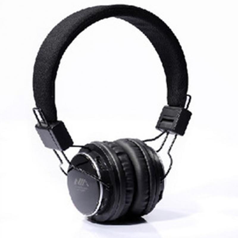 Newest Brand Wireless Bluetooth Foldable Stereo FM Mic Earphones Headphones Portable Media Player Headset(China (Mainland))