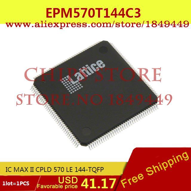 Бесплатная Доставка Горячей Продажи Smart Electronics Integrated Circuit EPM570T144C3 IC MAX II CPLD 570 LE 144-TQFP 570T144 EPM570T144 1 ШТ.