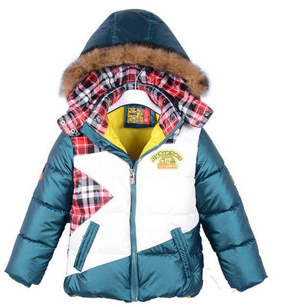 New arrival boys winter down coat casual plaid hit color casual jacket outwear clothes for kids, boys thick hooded parkas S857<br><br>Aliexpress