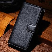 A319 высокое качество личи шаблон бумажник PU кожаный чехол для Lenovo A319 оболочки с владельца карты