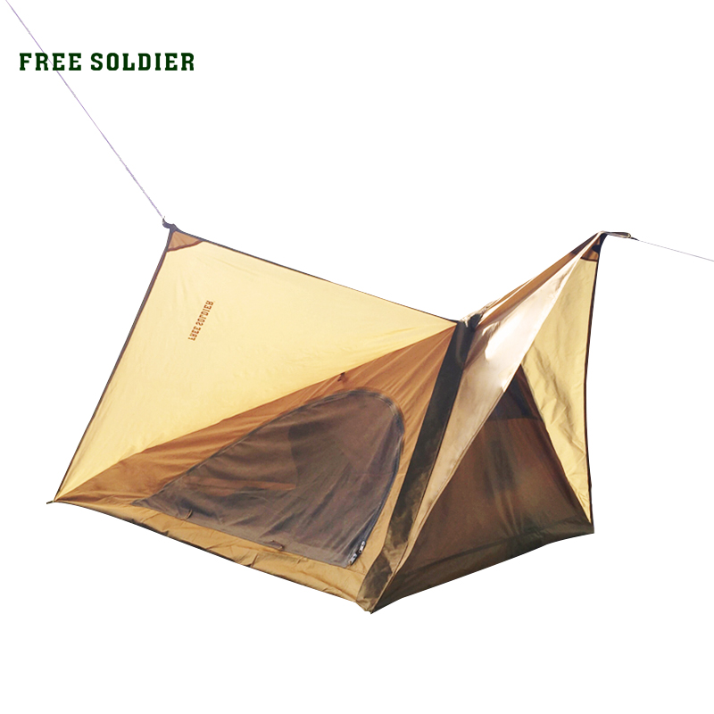 FREE SOLDIER A product for army fans soldier tent for walkers Portable outdoor, picnic, camping and marching tent()