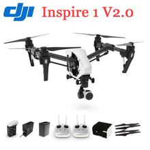 100% Original DJI Helicopter Inspire 1 V2.0 FPV RC Quadcopter GPS Drone 4K HD Camera Drones Everything You Need Kit