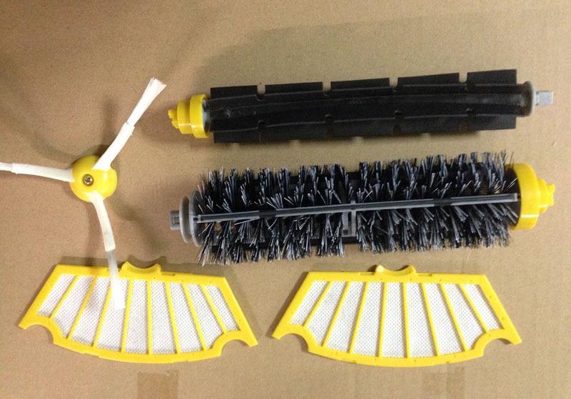 iRobot Roomba brush Filter 500 600 Series 620 650 555 537 550 560 580 Vacuum Cleaner parts(China (Mainland))