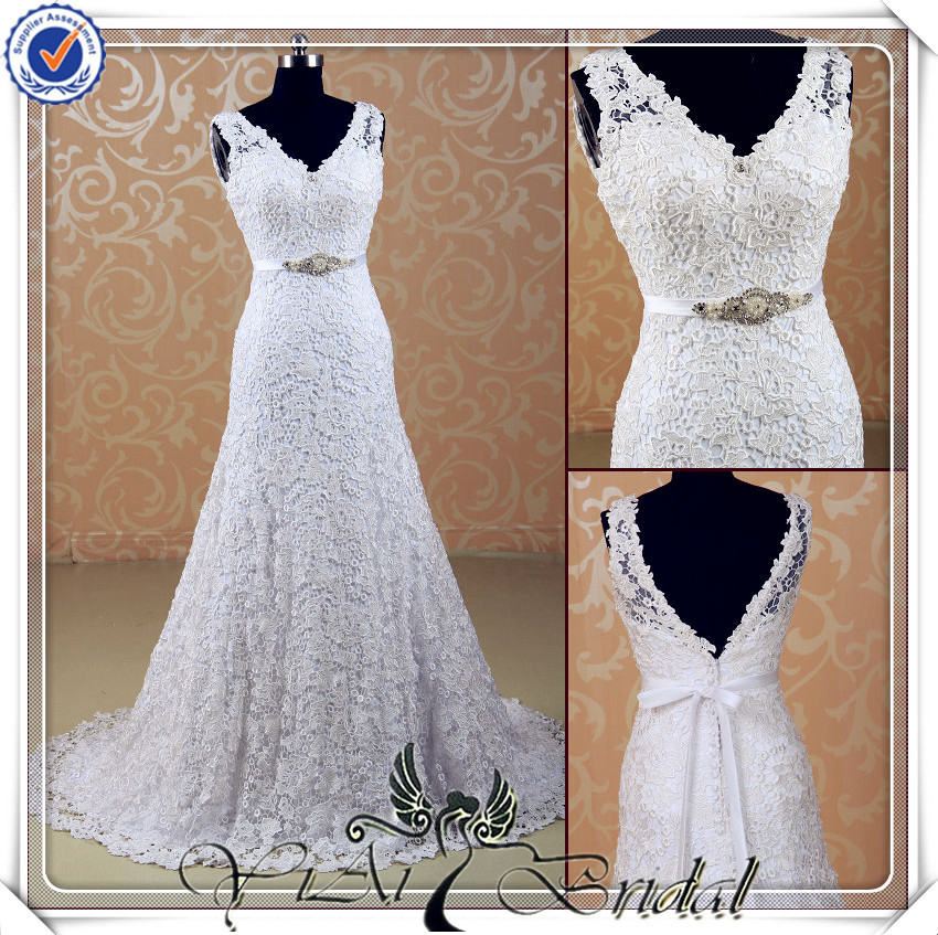Jj3536 beaded real sample mermaid lace designer import for Wedding dresses sale online