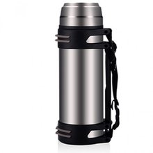 New Arrival and Hot Sale 2000ml large capacity outdoor stainless steel vacuum cup thermos water bottle(China (Mainland))