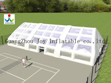 white large outdoor transparent  portable air tight inflatable tennis enclosure(China (Mainland))