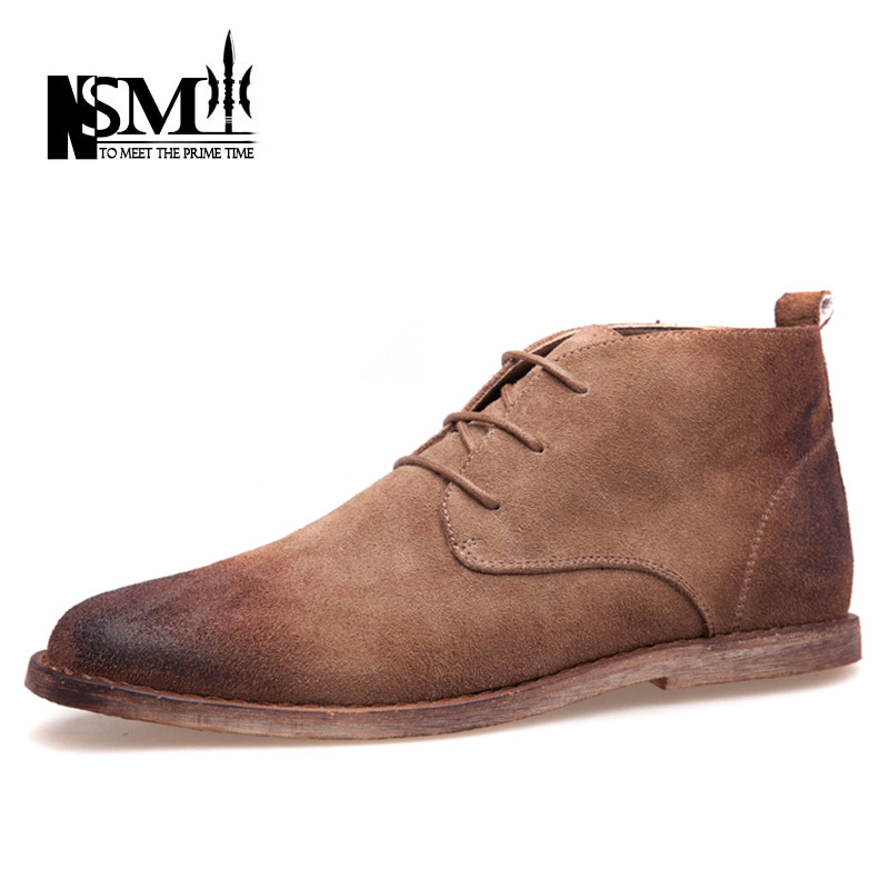 Гаджет  Mading Boots 2015 Winter New Fall Matte Leather Retro Men Boots Gray-brown Business Casual Desert Tooling Shoes NSM-150620 None Обувь