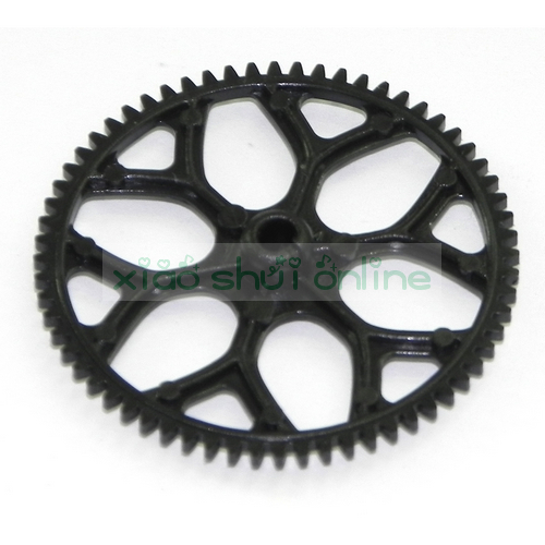 2pcs Free Shipping wl toys wltoys v930 power star x2 2.4g 4ch single blades small helicopter spare parts main gear(China (Mainland))