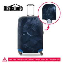 Dispalang Geometric Print Suitcase Protective Covers Travel Accessories Elastic Luggage Cover for 18-30 Inch Trolley Case Cover(China)