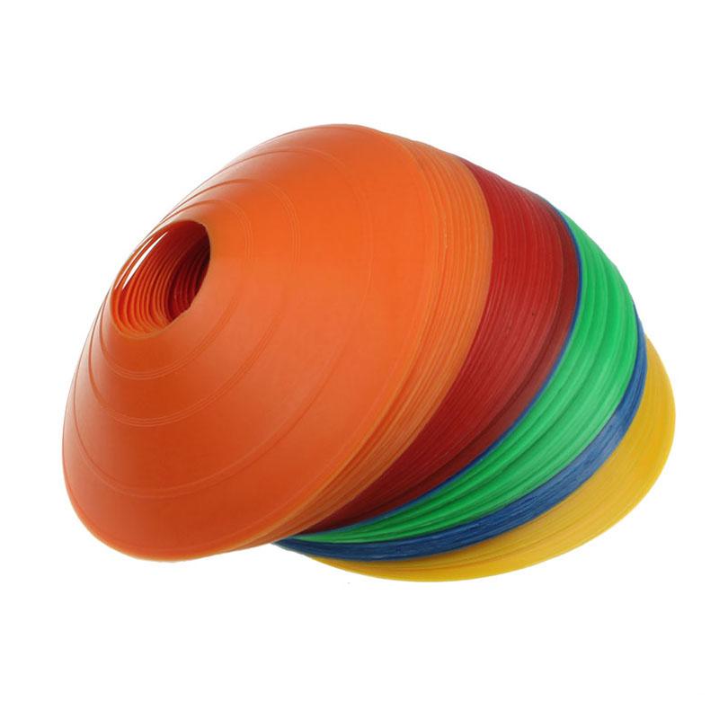 Good Quality 10PCS Disc Cones Soccer Football Field Marking Skating Coaching Parking Lot Training Good Toughness PVC material(China (Mainland))
