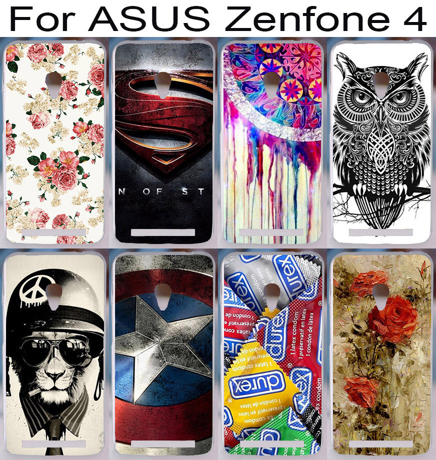 22 pictures 2015 freeshipping Cool fashion Pattern Custom mobile cell phone case for ASUS Zenfone 4 zenfone4 4.5 inches A450CG(China (Mainland))