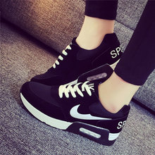 basket femme 2016 Chaussure Femme Autumn Fashion Shoes For Women Casual Shoes Women Wedge Shoes Zapatos Mujer Jogging Flat Shoes
