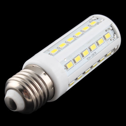 2015 New Pure White 10W 42 LED 5630 SMD E27 Corn Light Bulb 220V Energy Saving Lamp # 17227