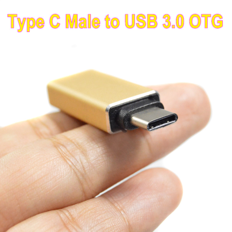 Type C Male to USB 3.0 A Female Converter OTG Cable for Macbook for Chromebook for Nexus 5X Nexus6p Lumia950 XL(China (Mainland))