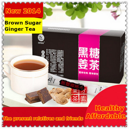 New 2014 HOT Sale Green Slimming Coffee Green Coffee Honey And Ginger Tea With Brown Sugar