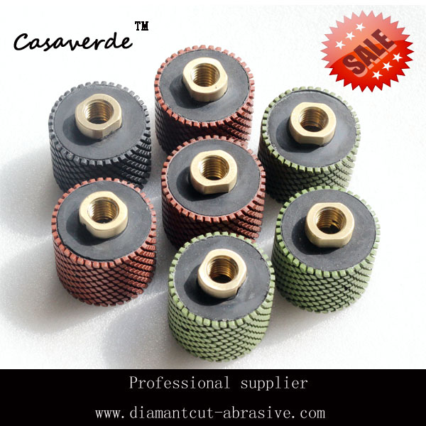 DC-RDPP02 2 inch (50mm) diamond resin drum wheels for polishing granite and marble stone<br><br>Aliexpress