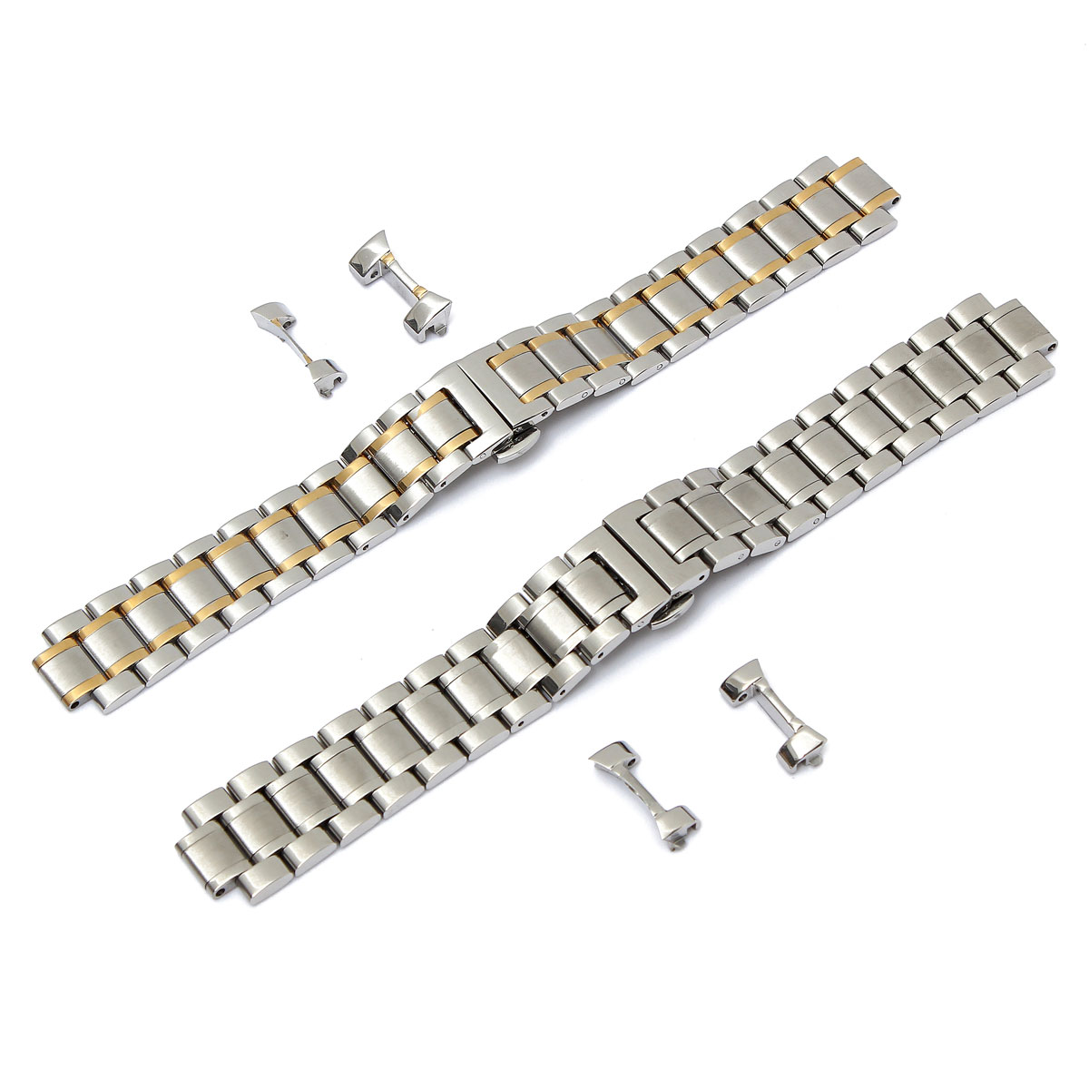 Beautiful Design Sliver Watch Band 19mm/20mm Stainless Steel Watch Band Strap Curved End For LONGINES Men Series(China (Mainland))