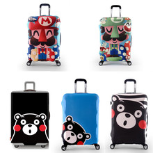 Child Cartoon Elastic Luggage Protective Cover For 18-32 inch Trolley Suitcase Protect Dust Bag Case Travel Accessories Supplie