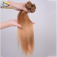 3Bundles/150g Peruvian Virgin Hair Straight 100% Human Hair Weft Queen Hair Products Peruvian Hair Weave Bundles #27 Tangle Free