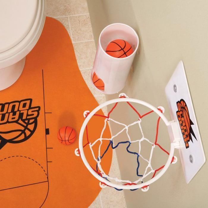 Greatest Provide Purchase Novelty Rest room Toilet Basketball Slam Dunk Recreation Toy Set  Sale BS88