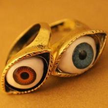 Fashionable Women's wedding jewelry Accessories Punk style Retro Ring Finger ring Female blue eyes people(China (Mainland))