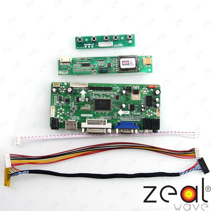 HDMI+DVI+VGA+AUDIO LCD Controller Board For 15.0INCH B150XG01 LCD 1024*768<br><br>Aliexpress