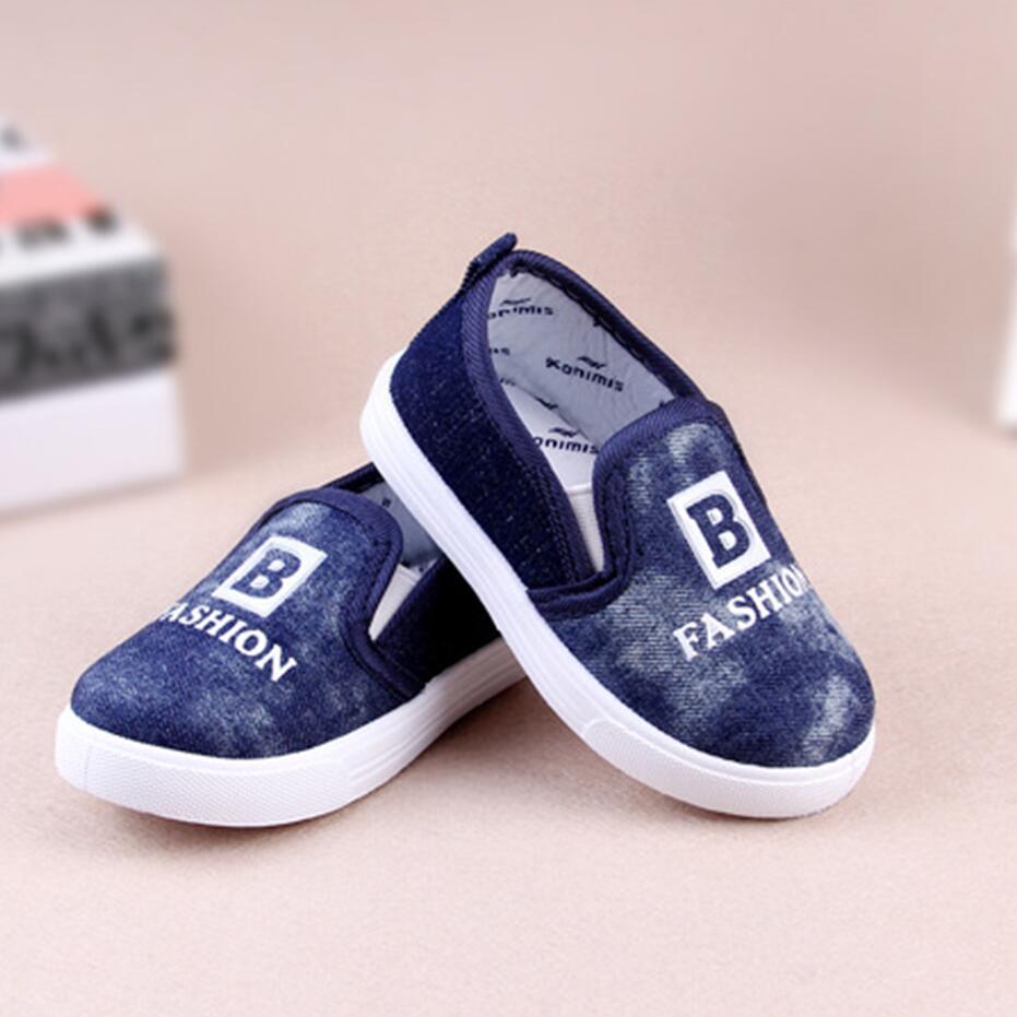 2016 fashion leisure spring boy baby shoes soft soled canvas shoes 0 3 children prewalker non