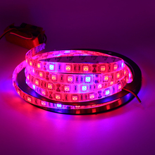 Buy 5M Led Plant grow light Waterproof SMD5050 Hydroponic Systems Led Grow Strip Light 300Leds Full spectrum 660nm 460nm for $11.38 in AliExpress store